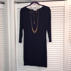 Forever 21 Navy Lg Mini Dress